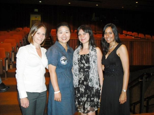 Dr.Soyeon-Yi with myself and other ISU SSP09 Teaching Associates