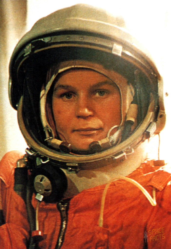 """If women can be railroad workers in Russia, why can't they fly in space?"" - Valentina Tereshkova, The First Woman In Space [Image Copyright: esa.int]"