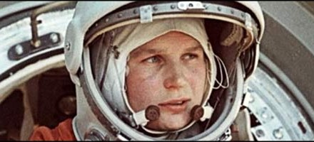 """If women can be railroad workers in Russia, why can't they fly in space?"" - Valentina Tereshkova, The First Woman In Space"