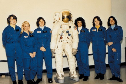"The First 6 Female NASA Astronauts Selected In 1978 From L-R: Shannon W. Lucid, Margaret ""Rhea"" Seddon, Kathryn D. Sullivan, Judith A. Resnik, Anna L. Fisher and Sally K. Ride. [AirportJournals]"