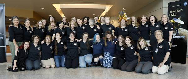 The Women Working on the New Horizons Mission