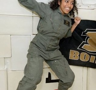 Sirisha Bandla Flying High During A Parabolic Flight