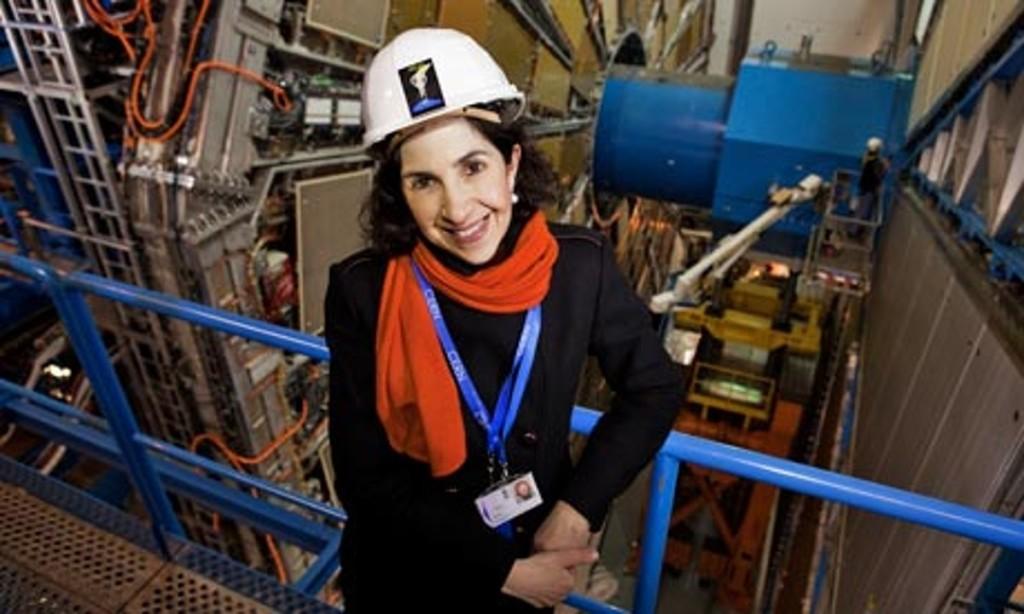Fabiola Gianotti [Image Copyright: CERN (via TheGuardian.com)]