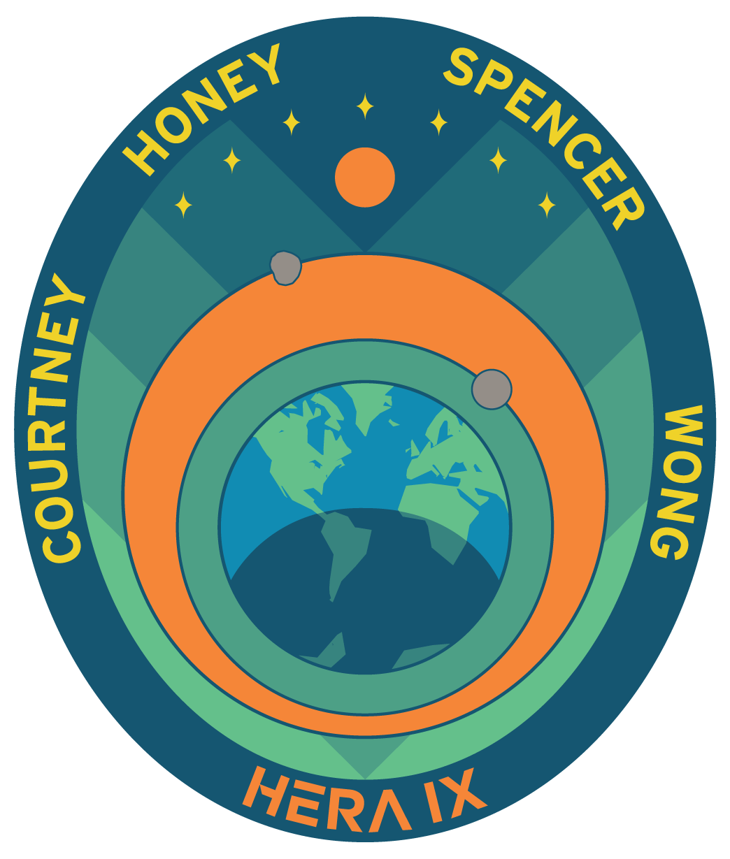 HERA IX Mission Patch [Julielynn Wong, M.D., Huffington Post]