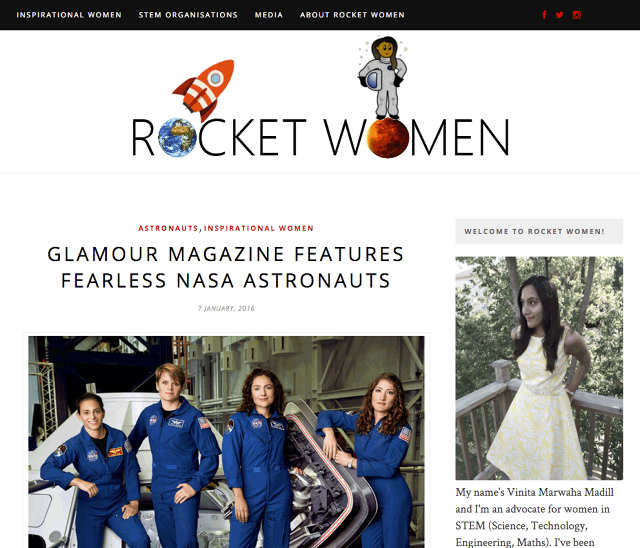 Rocket Women Featured By Fast Company