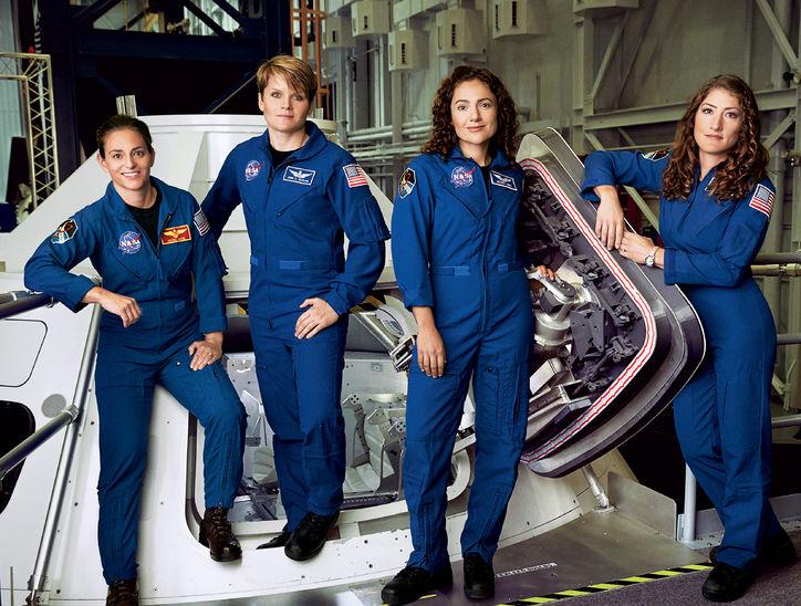 NASA female astro glamour