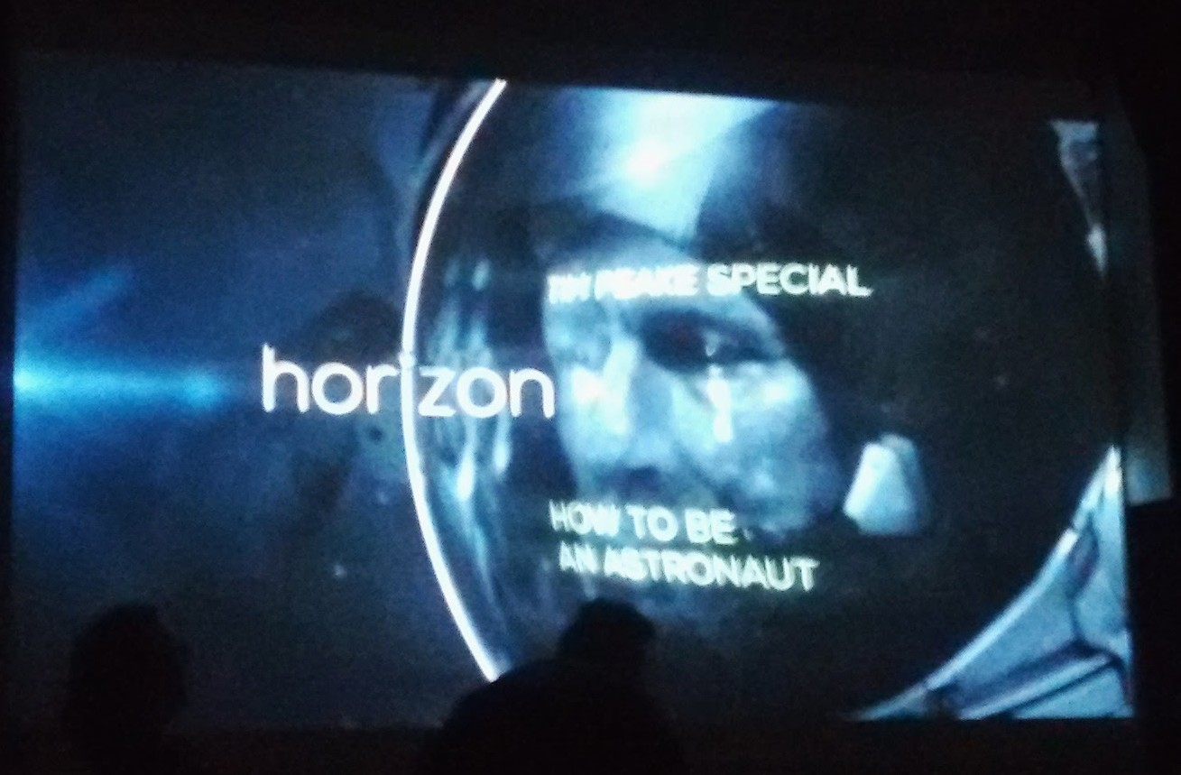 Horizon's recent film about British astronaut Tim Peake's training