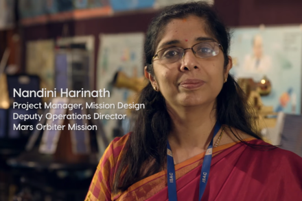 Nandini Harinath, ISRO [Science Friday]