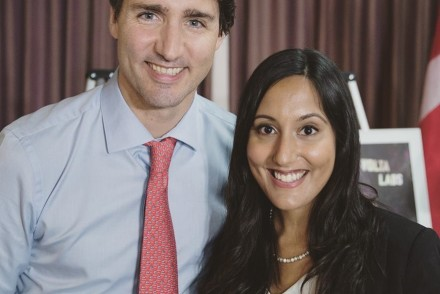 Truly honoured to meet the Canadian Prime Minister Justin Trudeau