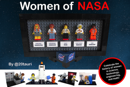 Inspirational Women Of NASA Lego Set [Lego Ideas]