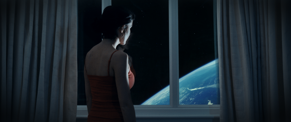 Seat 25 - Faye Banks, played by Madeline Cooke, imagininga journey to Mars [Seat 25]
