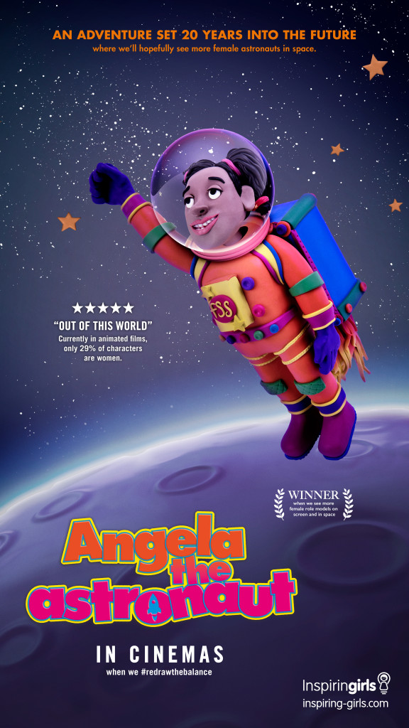Angela The Astronaut [MullenLowe London]