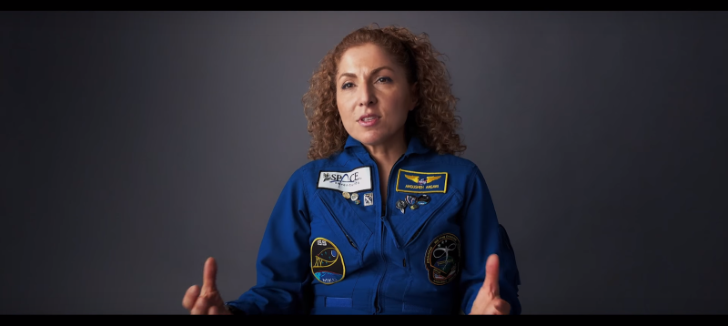 Anousheh Ansari in 'Dot of Light' (Still from 'Dot of Light')