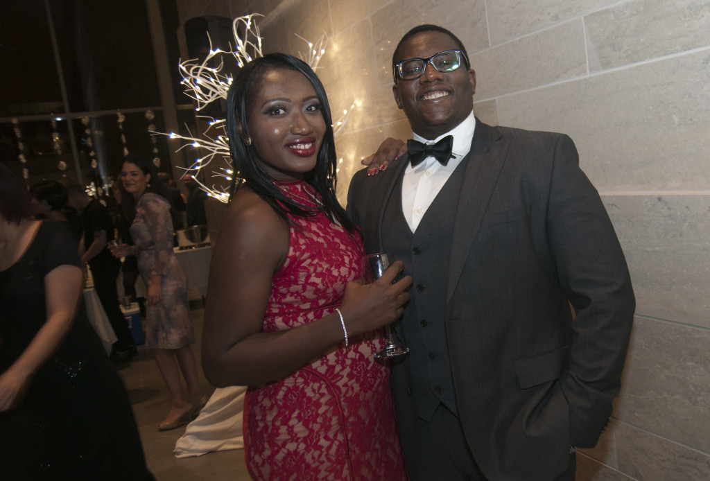 Timiebi Aganaba-Jeanty with her husband Jean-Moise Jeanty