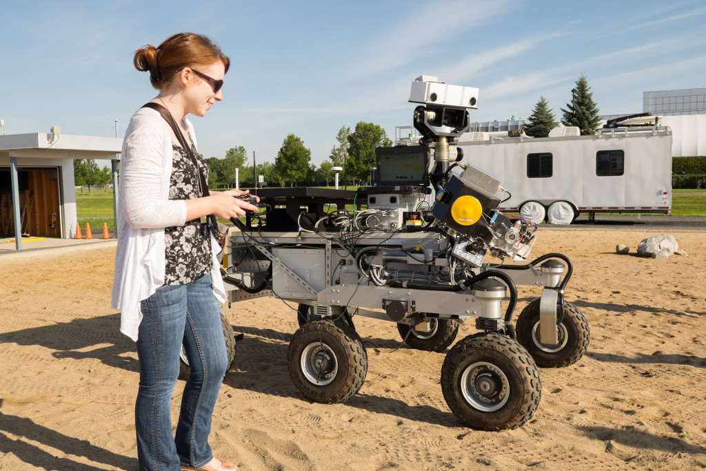 Tanya Harrison Operating Mars Rovers