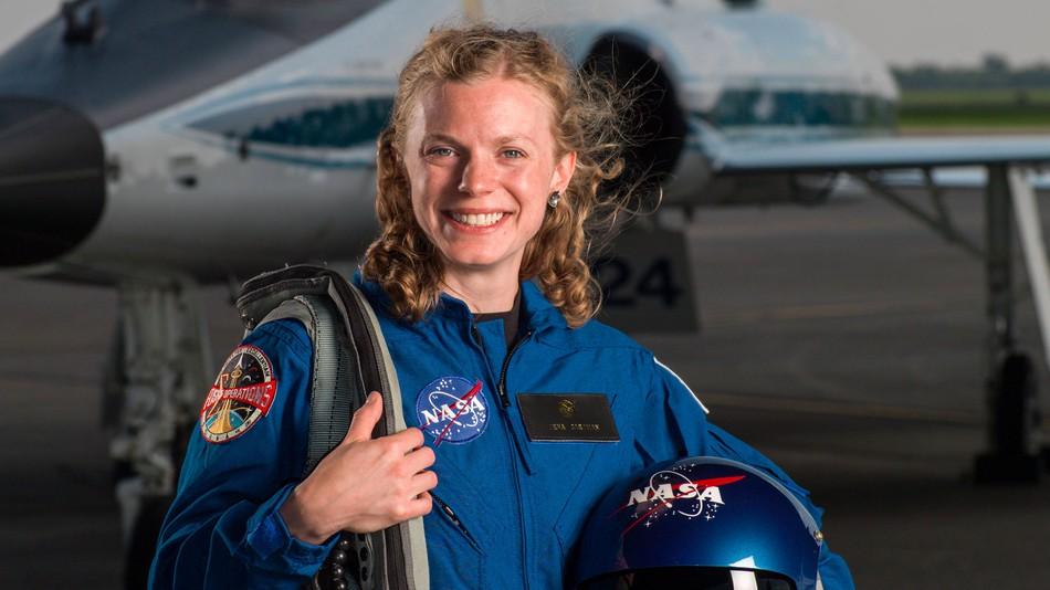 Zena Caldman, NASA Astronaut Candidate [Image copyright: Robert Markowitz/NASA]