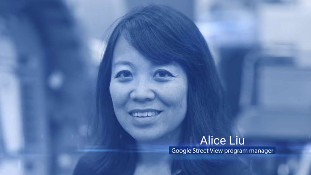 Alice Liu - Google Street View [Still from Behind the Scenes: Mapping the International Space Station with Google Street View  https://youtu.be/IBTP62jd4DA]