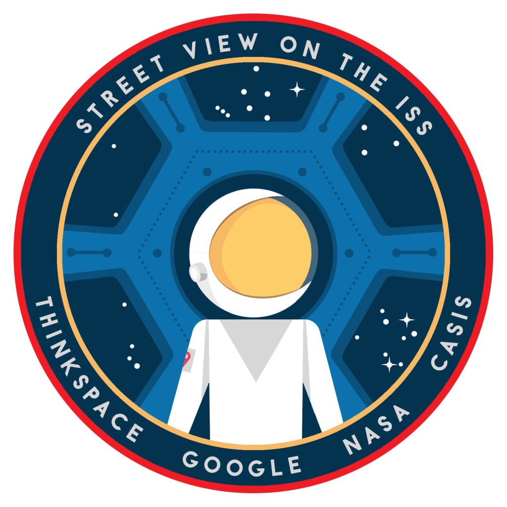 The ISS Google Street View Mission Patch [ThinkSpace/Google]