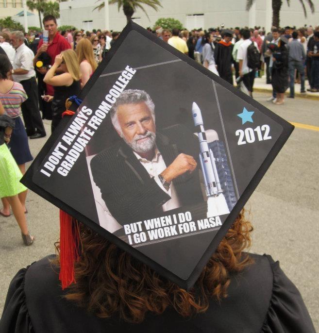 Natalie's Fantastic College Graduation Cap