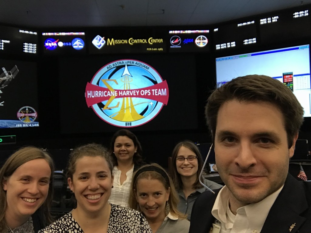 The Orbit1 Flight Control Team: Dorothy Ruiz, Natalie Gogins, Fiona Turett, Jessica Tramaglini [Source: Twitter https://twitter.com/DorothyRuiz/status/903259274004099072]