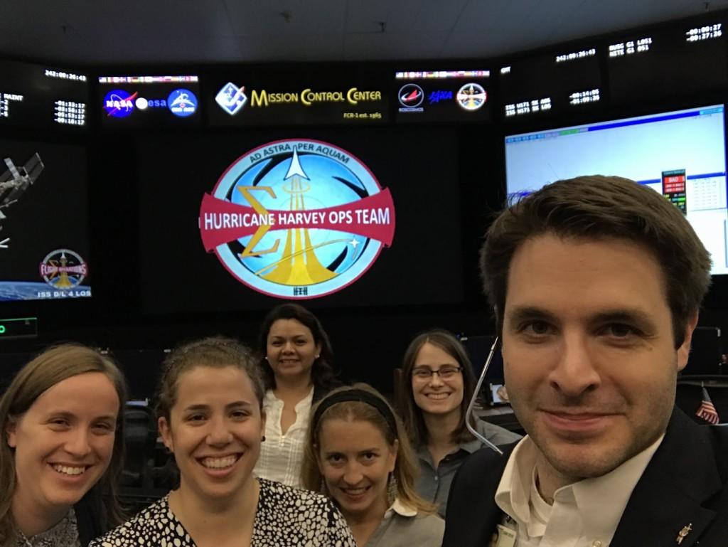The Orbit1 Flight Control Team: Dorothy Ruiz, Natalie Gogins, Fiona Turett, Jessica Tramaglini [Source: Twitter https://twitter.com/DorothyRuiz/status/903259274004099072]