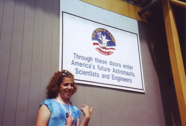 Natalie At U.S. Space Camp