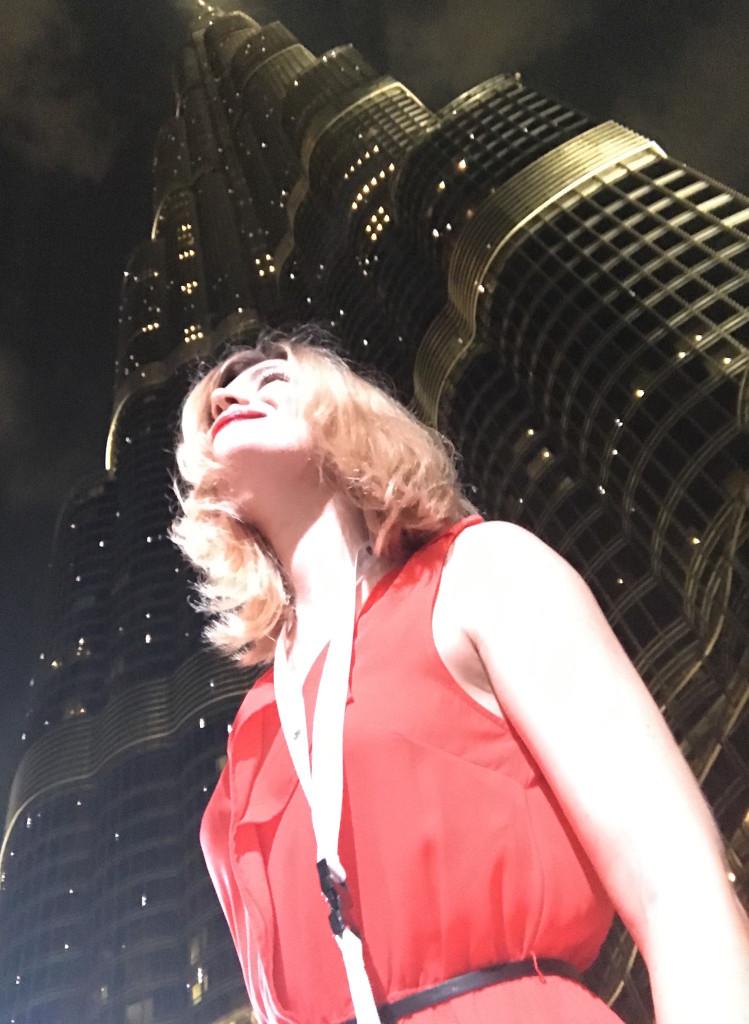 Olga in the UAE