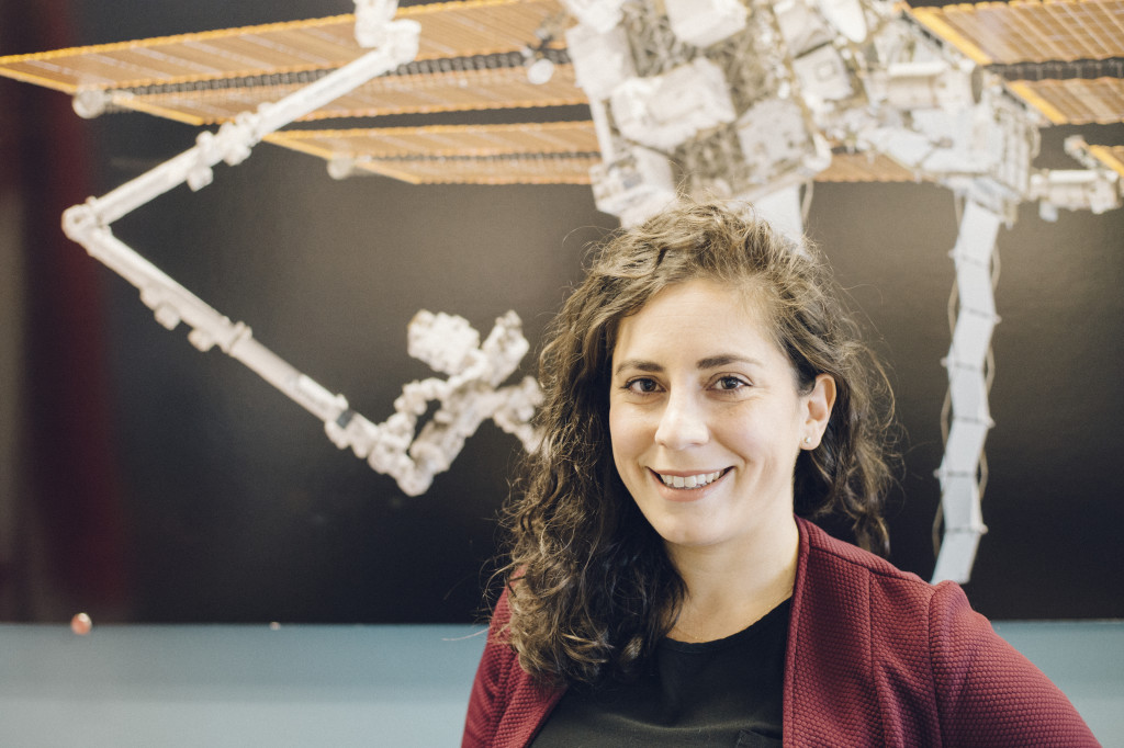 Kristen Facciol, Robotics Flight Controller, Canadian Space Agency (CSA)