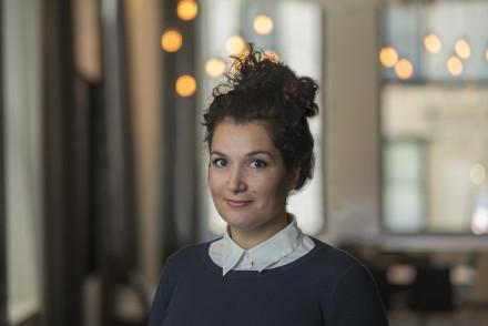 Dr. Chiara Mingarelli [Image: Flatiron Institute]