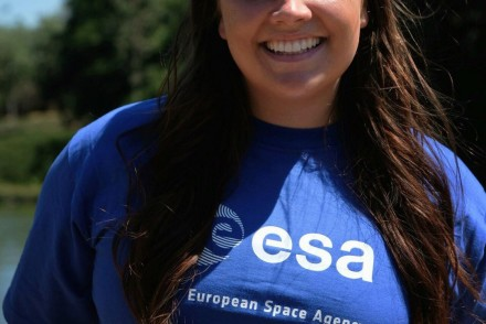 Bethany Downer at European Space Agency's (ESA) ESTEC, The Netherlands