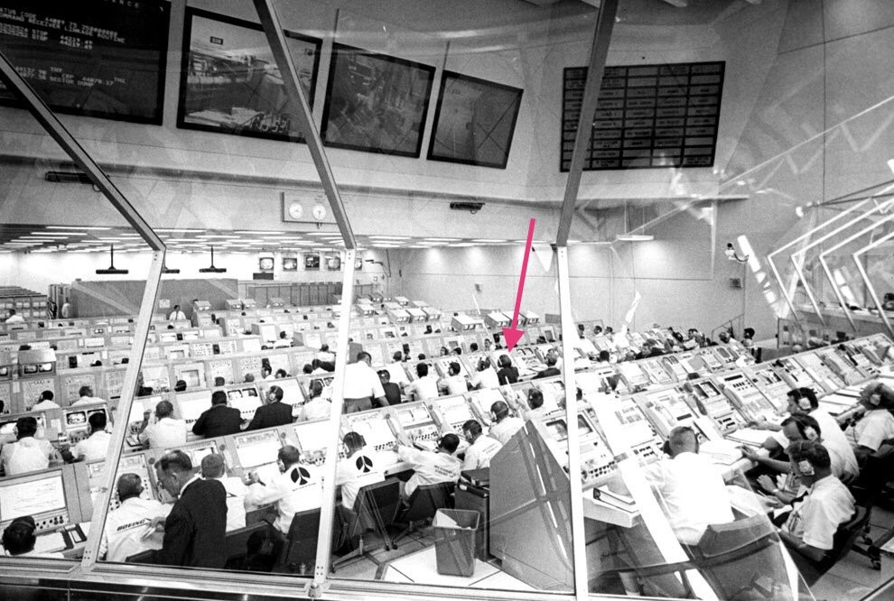 Firing Room [Credit: NASA]