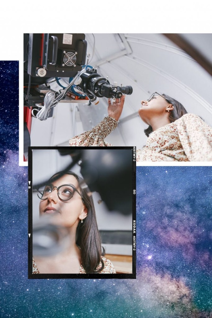 Rocket Women Founder Vinita Marwaha Madill featured in Stylist Magazine [Image copyright: Stylist Magazine https://www.stylist.co.uk/life/space-station-travel-female-engineer/277819]