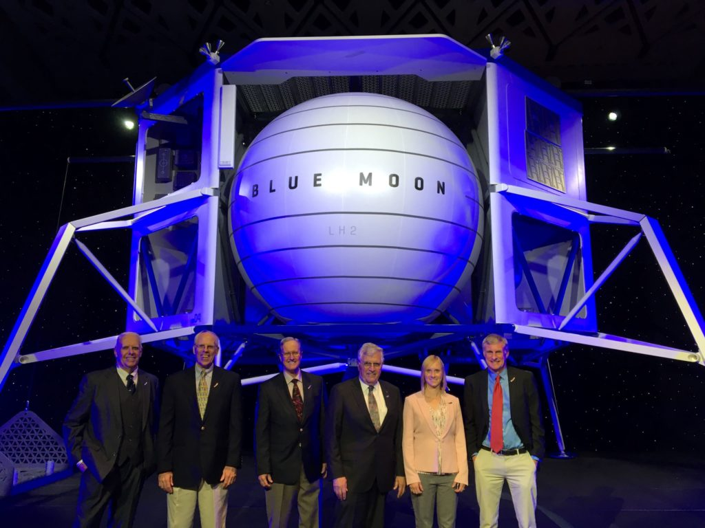 Dr. Ryan Watkins as part of the Blue Moon Science Advisory Board [Blue Origin]