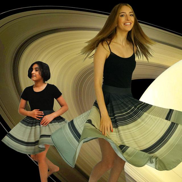 Svaha USA Rings of Saturn Twirl Skirt