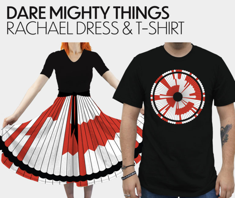 Dare Mighty Things - Rachael Dress & T-Shirt [Svaha USA]
